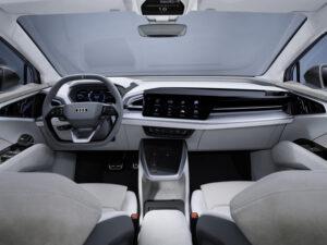 Audi Q4 Sportback e-tron concept-innen