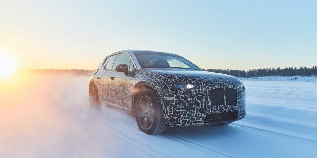 BMW wird nächste Woche seinen Tesla-kämpfenden BMW iNext vorstellen