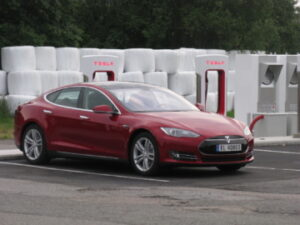 Norway_Tesla_Model_S_red