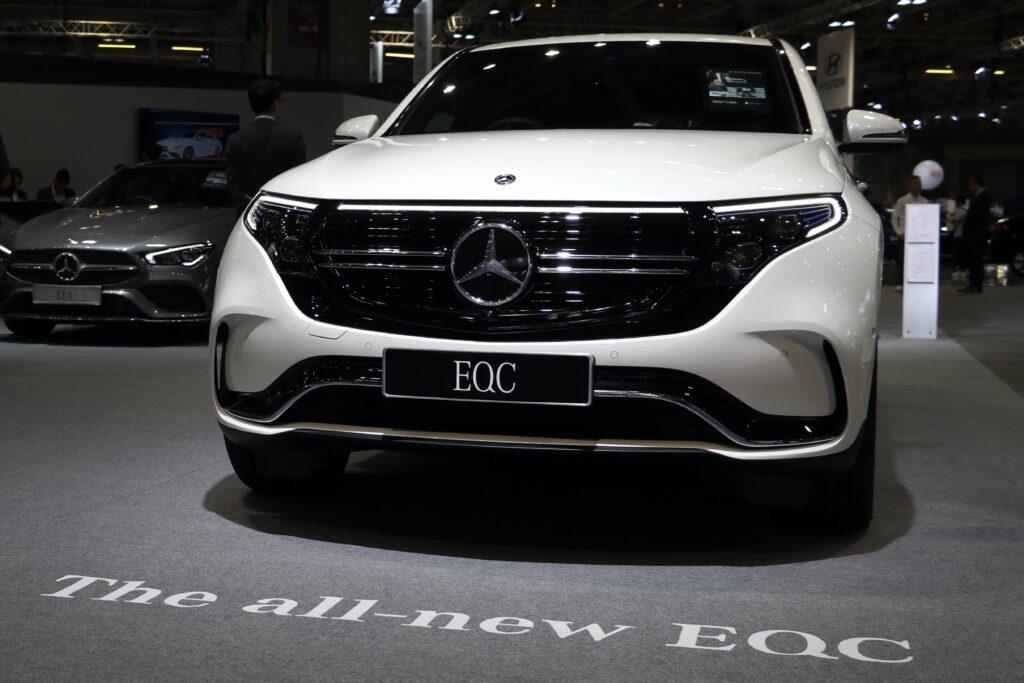 Elektroauto Mercedes-Benz EQC 400